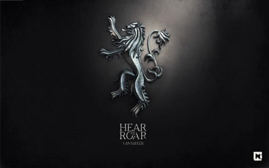 Juego de Tronos. Emblema Lannister