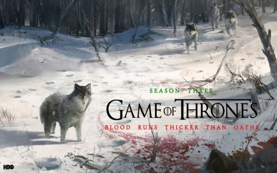 Dibujo Tercera Temporada Game of Thrones