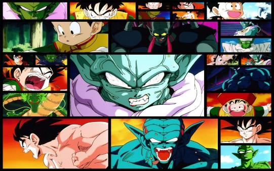 Collage Dragon Ball.