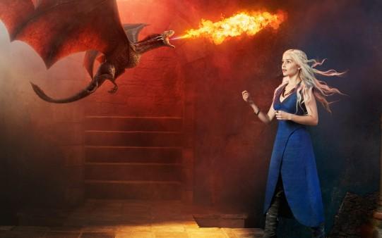 Wallpaper Game of Thrones Dragones.