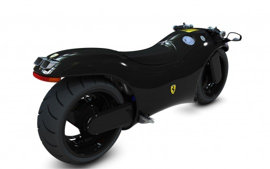 Motos de Lujo Ferrari V4.