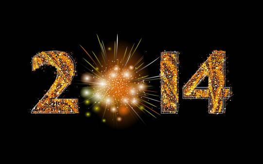Fondo Escritorio para Felicitar el 2014.