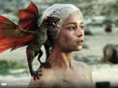 Fondo de Escritorio  Daenerys Dragon