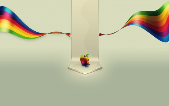 Fondo de Apple Multicolor