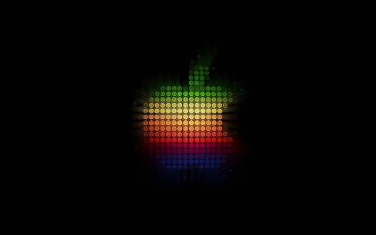 Fondo de Pantalla Apple Led