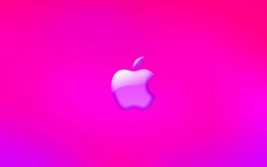 Fondo de Escritorio Rosa de Apple