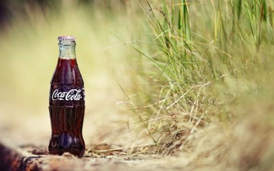 Botella de Vidrio de Coca-Cola