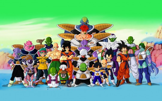 Wallpaper Dragon Ball Z. Saga Freezer.