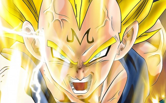 Fondos Dragon Ball. Vegeta Super Saiyan