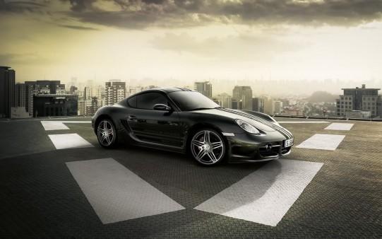 Porsche Negro. Design Edition